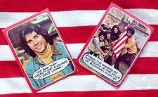 Lot of 2 1976 Topps WELCOME BACK KOTTER cards JOHN TRAVOLTA #'s 26 & 31