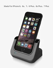 For Iphone 7 7 Plus Sync Data USB Charger Dock Stand Station Cradle Charging