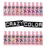 Crazy Color Renbow Hair Dye 100ml. Choose your colour (26 Colours available)