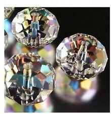 free shipping 100pcs clear ab exquisite Glass Crystal 3*4mm #5040 loose bead;#