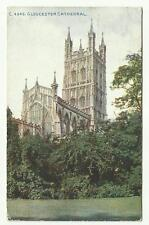 Gloucester Cathedral postcard 1917