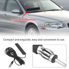 ANT-309 Universal Car AM FM Radio Antenna Patch Windscreen Aerial 5M Cable Black