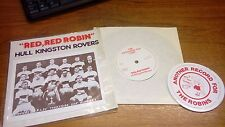 BRAND NEW OLD STOCK RED RED ROBIN HULL KINGSTON ROVERS 45 RPM VINYL RLFC SINGLE