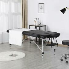 "Lightweight 84"" Adjustable Aluminum Massage Table 3 Sections 2 Fold P
