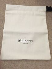 Mulberry Shoe Dust Bag - Brand New