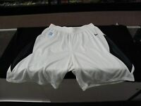 Binghamton University Bearcats NCAA Game Worn Basketball Shorts White XLT #25