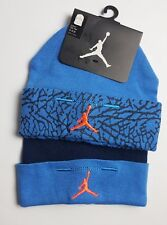 Nike Air Jordan Boys Infant 2 Pack  Booties Blue Set Size 0 - 6 Months