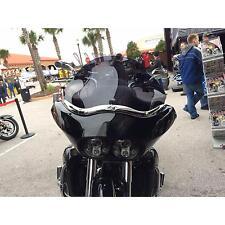 """Klock Werks 9/"""" Dark Smoke Flare Windshield Harley FXR FXRT FXRP Sport Glide"""