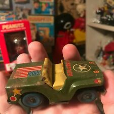 Vintage Tin army jeep