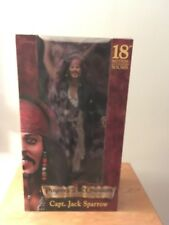 """Jack Sparrow 18"""" Smiling Variation Pirates of the Caribbean Action Figure Neca"""