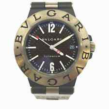 Bvlgari Watch TI38TA TITANIUM operates normally 1402348