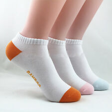 Quality 3* Woman Bamboo Fibre Ankle Socks Odor Resistant Antibacterial Healthy