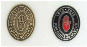 For God and Ulster Enamel Badges