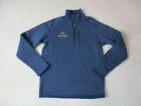 Patagonia Sweater Size Womens Small Blue Quarter Zip Pull Over Long Sleeve