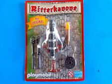 Playmobil Ritterkanone Cañon medieval Antorcha medival cannon Blister new Torch