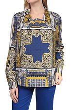 Geblümte Langarm Damenblusen, - tops & -shirts im Passform für Party-Anlässe