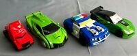 Transformers Toys Cars LOT of 4 Assorted Vehicles--C94