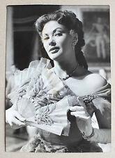 ANCIENNE PHOTOGRAPHIE - YVONNE DE CARLO - 1954 - AGIP COHEN *