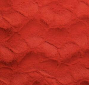 """Red Stella soft cuddle Fabric 58"""" Wide Sold by the Yard"""
