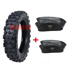 "Pitbike 80/100-10 TIRE TYRE 3.00-10 300-10 10"" + 2x Inner Tubes Wheel Pit Bike"