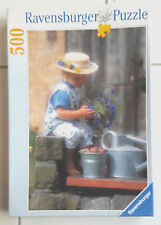 Puzzle 500 pièces Ravensbuger «petite fille à la campagne»
