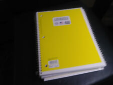 Lot of 15 college ruled spiral notebooks assorted color FREE SHIPPING!!!!!!!!!!!