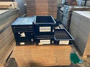 ESD Stapelbehälter  in verschiedenen Größen mit Deckel