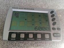 Poker Slot Blackjack Electronic Handheld Game Vintage