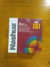 Caja de 10 Discos Diskettes Nashua 3 1/2 HD Nuevos precintados, varias unidades