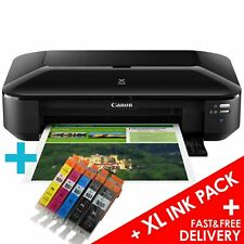 Canon PIXMA iX6850 A3 Wireless Wi-Fi Office A3+ Air Printer + 1 Set of XL Inks
