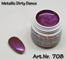 5 ml  UV Exclusiv Farbgel Metallic Dirty Dance Gel Nr.708