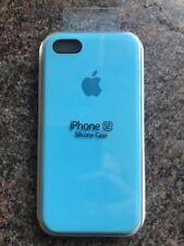 Apple iPhone 5 5s / SE Silicon Case Slim Great Handling Original Cover - Blue