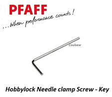 PFAFF Hobbylock Overlocker Needle Clamp Screw Tool - Allen Key x 1