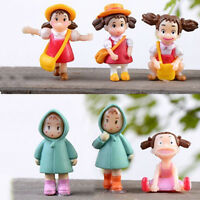 Garden Ornament Miniature Figurine Craft Plant Pots Fairy Dollhouse Decor JB