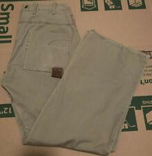 G Star Raw S.C Garber Chino Khaki Cotton Pants Size Mens 33x32