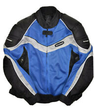Tourmaster Intake Series 2 Motorcycle Jacket Mens L 44 Padded Armour Riding