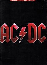 AC/DC BLACK ICE GUITAR TABLATURE EDITION songbook lyrics chords