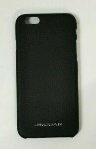 Genuine Jaguar Black 100% Real Leather iPhone 6 Case - 50JDPH726BKA