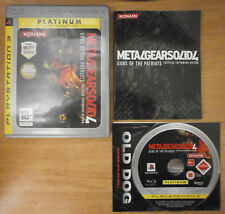 METAL GEAR SOLID 4 GUNS OF THE PATRIOTS - SONY PLAYSTATION 3 PS3