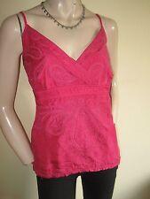 Monsoon Hip Length Silk Sleeveless Tops & Shirts for Women