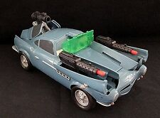 "Disney Pixar Cars 2 Large 12"" Finn McMissile Spy Shifter Action Car With Sound"
