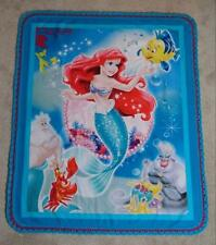 TODDLER CRIB QUILT/SHEET SET - DISNEY'S LITTLE MERMAID - ARIAL AND FRIENDS