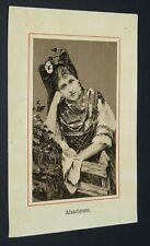 CHROMO BON-POINT 1890-1910 ECOLE ALSACE ALSACIENNE