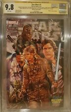 Star Wars #1 Midtown__CGC 9.8 SS__Signed by Ford, Hamill, Fisher, Baker + 3 more