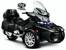 "Can Am Spyder RT RT-S RT Limited wrap decal kit ""Fallen Soldier"" HOOD/FENDERS"