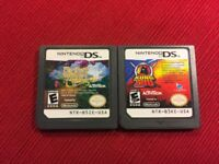 Lot of 2 DS Pet Games Kung Zhu (Nintendo DS) - Tested and Guaranteed