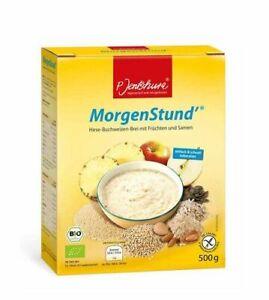 MorgenStund Jentschura Müsli Hirse Brei basische Frühstücksflocken *mit Proben!*