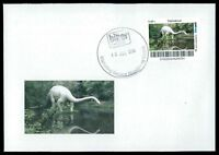 GERMANY DINOSAUR DINOSAURI DINOSAURIER - CUSTOM STAMP - ONLY 2 COVER MADE!! cp19