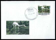 GERMANY Dinosaur dinosauri dinosauro-Custom STAMP-only 2 cover made!!! cp19