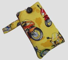 Motorbike Mobile Smart Phone Ipod Iphone Case Sock Sleeve Bag PADDED Gift NEW